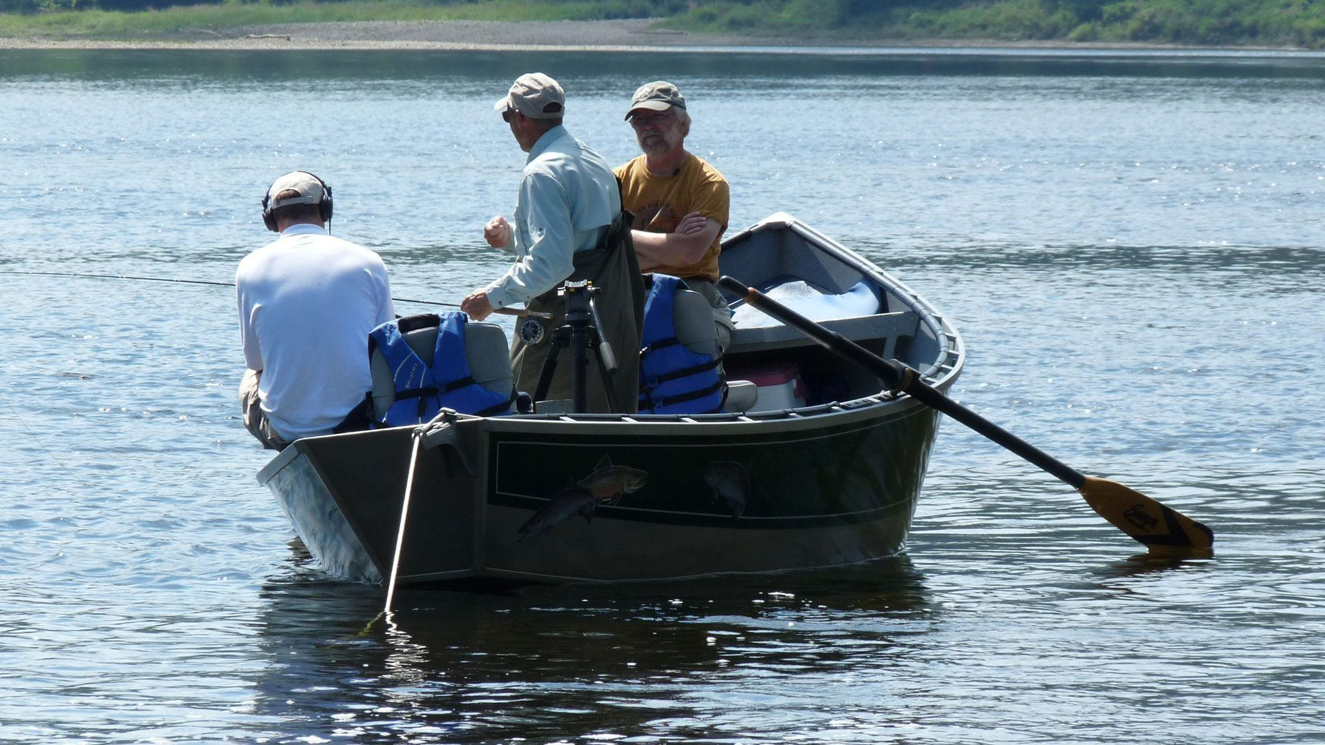 Video drift boat fishing watch windows to the wild for Drift boat fishing