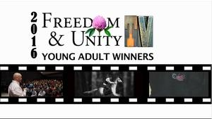 Freedom & Unity TV Award Winners - Young Adults
