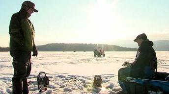 Ice Fishing Champlain, Brighton State Park & Burbot...