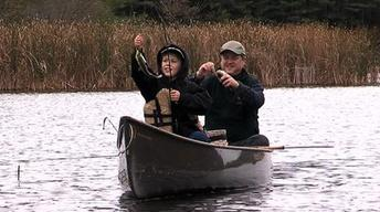 Canoe Based Bass Fishing, Trout Bums