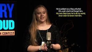 Poetry Out Loud - Vermont Finals 2016
