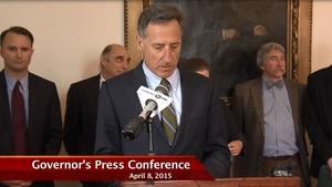 Governor Press Conference 4/08/15