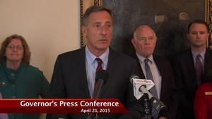 Governor Press Conference 4/21/15