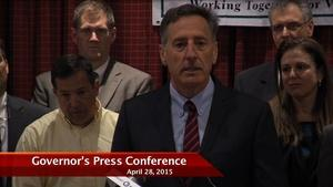 Governor Press Conference 4/28/15