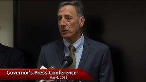 Governor Press Conference 5/06/15