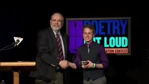 Poetry Out Loud - Vermont Finals 2015