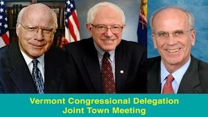 Vermont Congressional Delegation Joint Town Meeting
