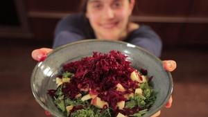 Winter Kale Salad | Vermont Grown Cooking