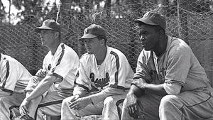 Breaking Barriers - Jackie Robinson as a player on Montreal