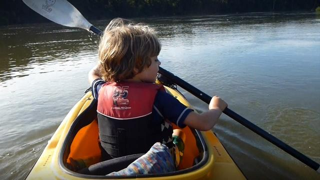 Kayaking the Apalachicola River with my 4-Year-Old Son