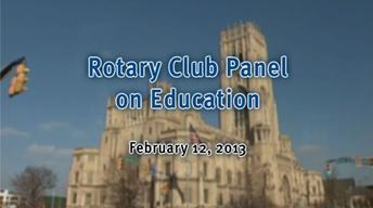 Rotary Panel Discussion image