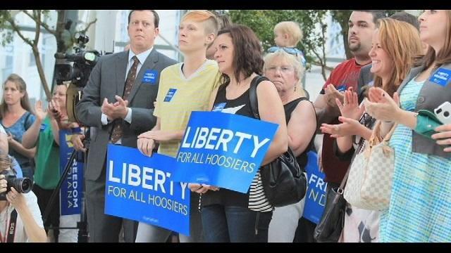 Indiana gay marriage amendment
