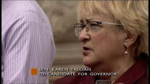 Karen Tallian Bid For Governor - May 15, 2015