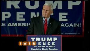 Pence Sticks With Trump - October 14, 2016