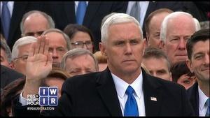 Pence Becomes Vice President - January 20, 2017
