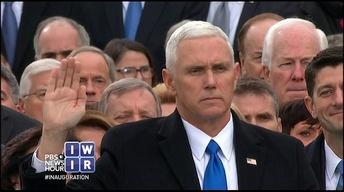 Pence Becomes Vice President - January 20, 2017