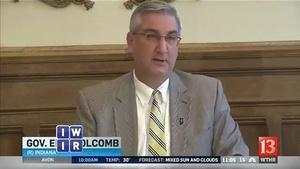 Governor Holcomb Makes a Splash - February 10, 2017