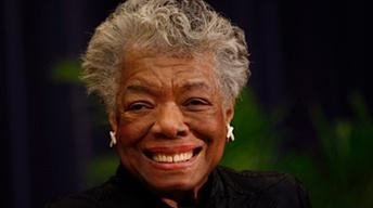 Maya Angelou...and literary lyricism