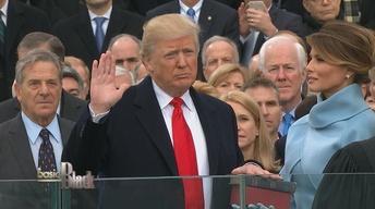 The Inauguration of Donald Trump