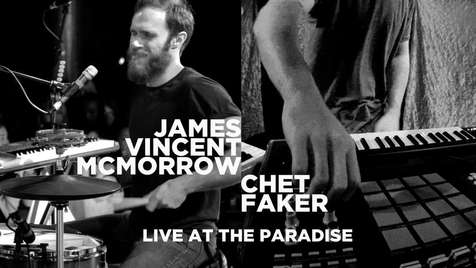 James Vincent McMorrow/Chet Faker: Live at The Paradise image