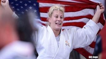 Sept. 18, 2012: Olympic Gold Medalist Kayla Harrison