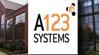 Oct. 16, 2012: A123 Systems files for Bankruptcy