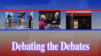 Nov. 5, 2012: Debating The Debates