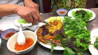 Neighborhood Kitchens: Pho Le's  Banh Xeo, Vietnamese Crepes