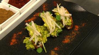 Neighborhood Kitchens: Bristol Lounge's Smoked Fish Tacos