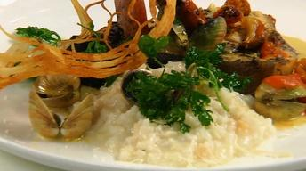 Neighborhood Kitchens: Scampo's Chorizo-Stuffed Swordfish