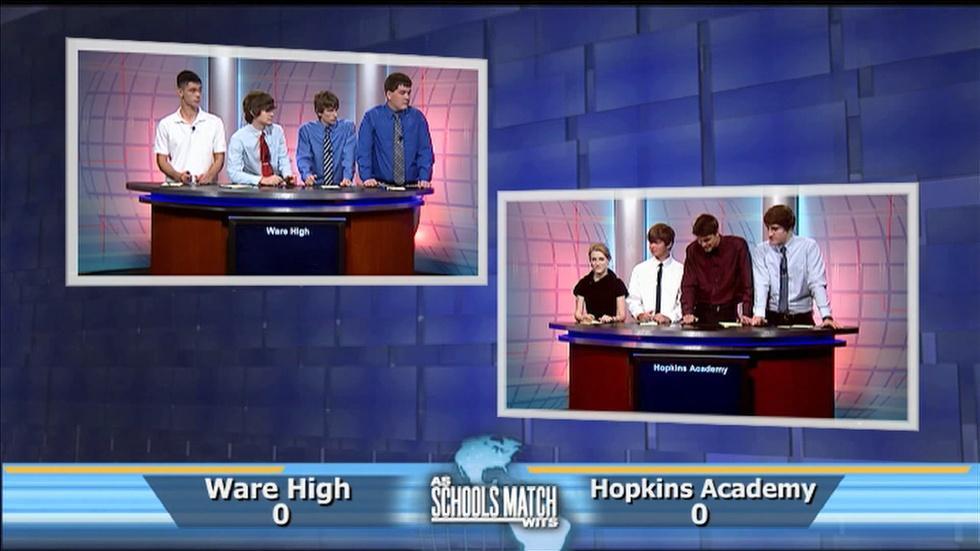 Ware vs. Hopkins Acadmey (Mar. 1, 2014) image