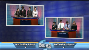 MacDuffie Schooll Vs. Suffield Academy  (Sat. Feb 14, 2015)