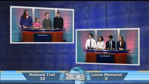 Mohawk Trail Regional Vs. Lenox Memorial  (March 14, 2015)