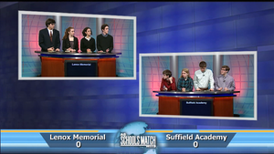 Quarterfinal #2: Lenox Memorial vs Suffield Academy (May 23)