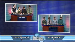 Semifinal #2: Lenox Memorial vs. Mt Greylock (June 11, 2016)