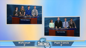 Wahconah Regional vs. Pope Francis (Dec. 31, 2016)