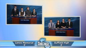 Lenox High vs. Suffield High (Jan. 21, 2017)
