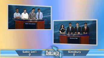 Sabis International vs. Simsbury High (Apr. 8, 2017)