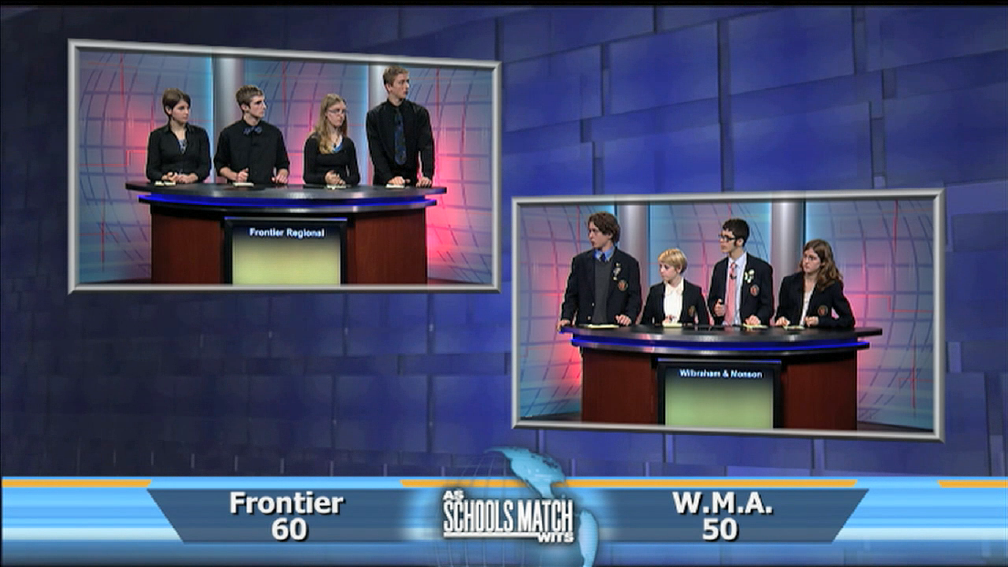 As Schools Match Wits: Frontier Reg. vs. Wilbraham & Monson image
