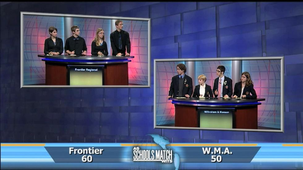 As Schools Match Wits: Frontier Reg. vs. Wilbraham & Monson image