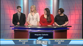 As Schools Match Wits: Holyoke Catholic vs. Monson