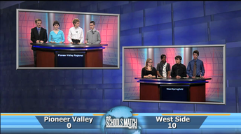 As Schools Match Wits: Pioneer Valley Reg. vs West Springfie