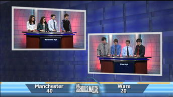 As Schools Match Wits: Manchester vs. Ware
