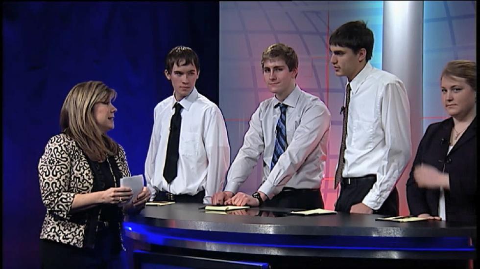As Schools Match Wits: Longmeadow High vs. Hopkins Academy image