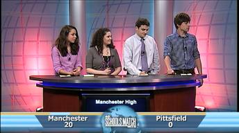 Quarterfinal #3: Manchester vs. Pittsfield