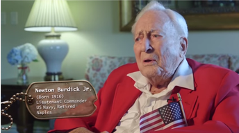WWII VETS: Newton Burdick