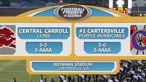 Central Carroll vs. Cartersville - Week 7