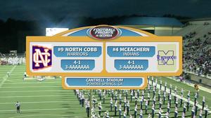North Cobb vs. McEachern Week 8