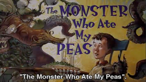 The Monster Who Ate My Peas (English subs)