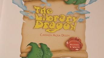 The Library Dragon (Espanol)